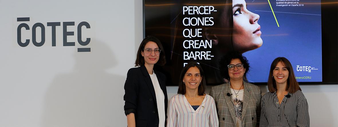 La mitad de las investigadoras que trabajan en España piensa que ser mujer dificulta su carrera