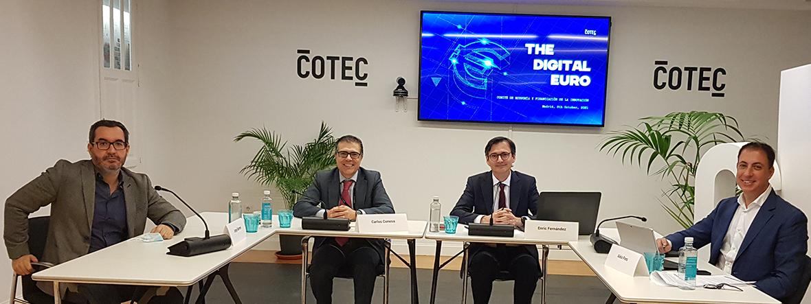 El Comité de Economía dedica una sesión al euro digital