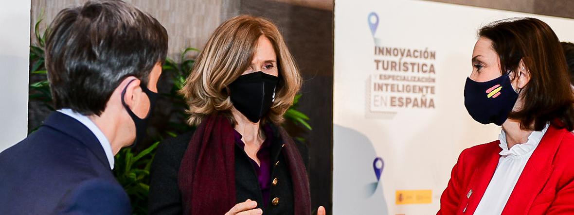 Encuentro con la ministra Reyes Maroto para abordar los retos de la innovación turística