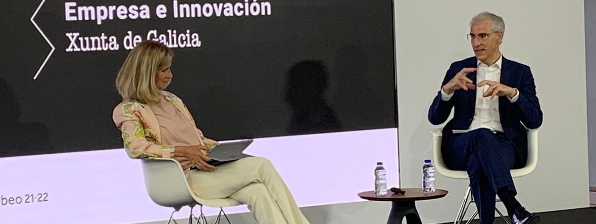Hablamos con el vicepresidente segundo y conselleiro de Economía de la Xunta sobre la innovación en Galicia
