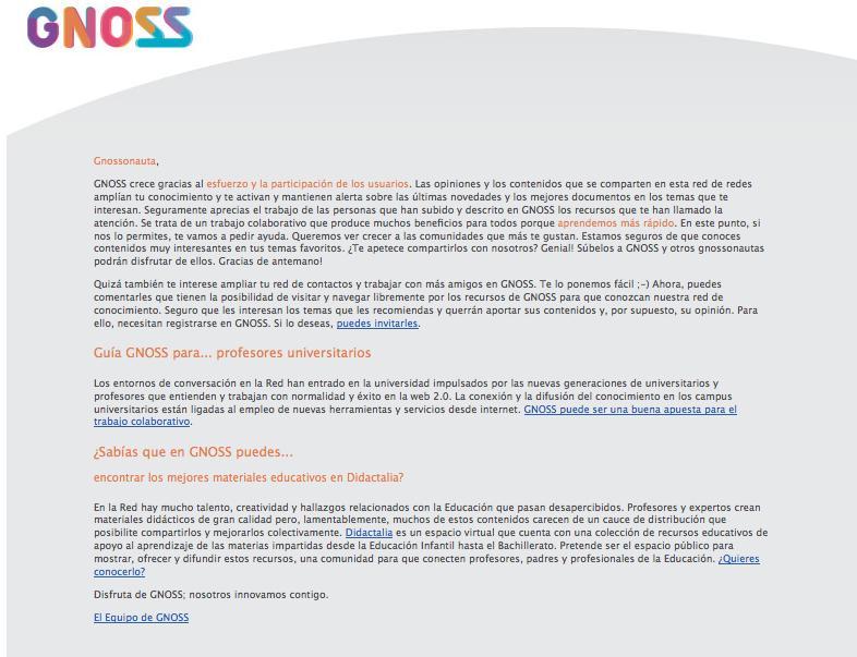 20091127 Newsletter semanal ES