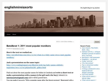 englishmireiaxorto. The English Blog for my students.