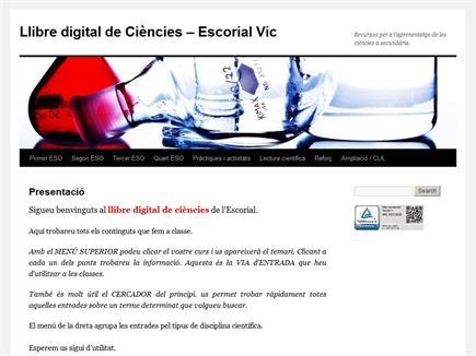 Llibre digital de ciències - Escorial Vic