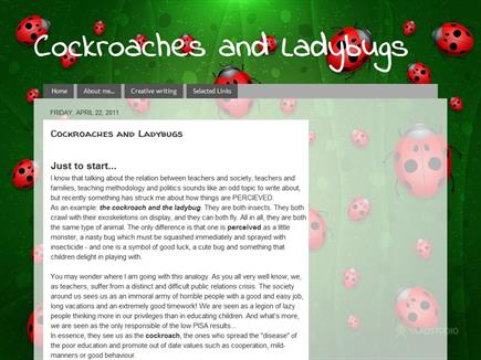 Cockroaches and Ladybugs