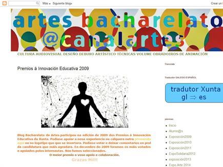 Canalartes: Bachillerato de Artes Plásticas y Audiovisuales