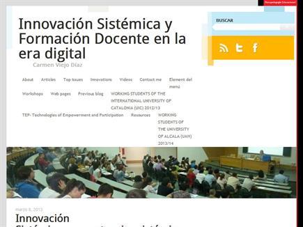 Innovación Sistémica y Formación Docente en la era digital