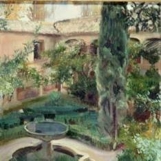 Patio de Lindaraja, La Alhambra