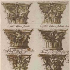 Capiteles corintios y compuestos