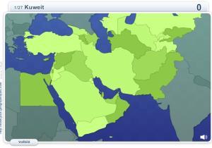 Geo Quizz Naher Osten. Geographie Spiele