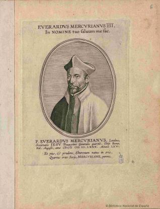 Retrato de Everardo Mercuriano