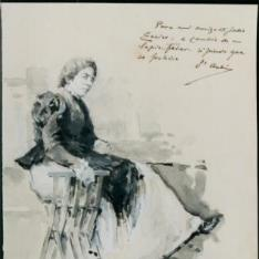 Figura femenina sentada