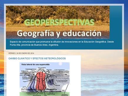 GeoPerspectivas - Geografía y Educación