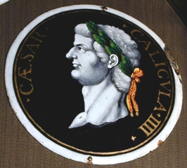 Placa del emperador Calígula