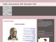 Taller d'escriptura INS Salvador Dalí