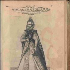 Retrato de Isabel Clara Eugenia de Austria