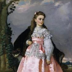 Concepción Serrano, futura condesa de Santovenia