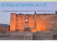 El blog de familias de 4º B