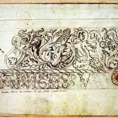 Friso decorativo del Palacio del duque del Infantado, Guadalajara
