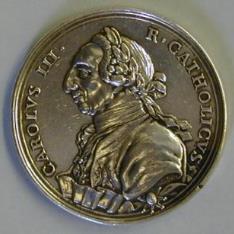 Medalla conmemorativa de la fundación de la Sociedad Económica de Sevilla