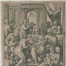La Sagrada Familia en el templo