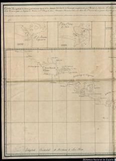 Carta de la Costa desde los 48° de Latitud Norte hasta los 50°