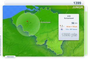 Villes de Belgique Junior. Jeux géographiques