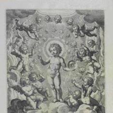 El niño Jesús bendiciendo