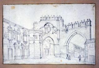 Plaza de los leones de Baeza, Jaén