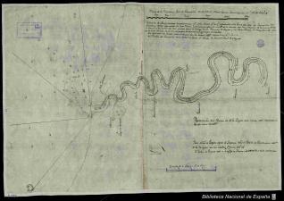 Plano de la Barra y Rio de Tampico en el Seno Mexicano