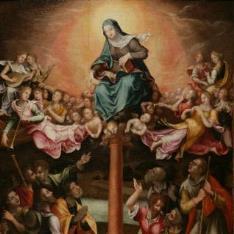 Aparición de la Virgen del Pilar a Santiago el Mayor