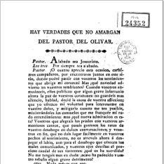 Hay verdades que no amargan del Pastor del Olivar