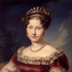La infanta Luisa Carlota de Borbón