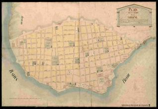 Plan de la ciudad de la Habana