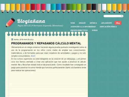 Blogtañana