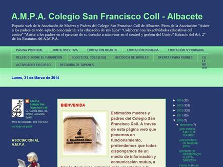 A.M.P.A. Colegio San Francisco Coll (FESD) de Albacete