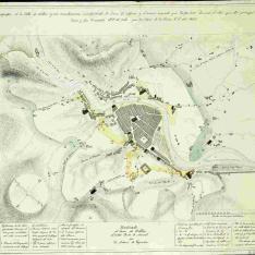 Plano topográfico de la Villa de Bilbao y sus inmediaciones