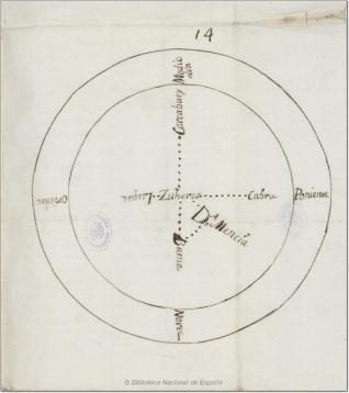 Mapa de Zuheros