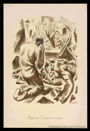 Pasaron por Guernica los invasores