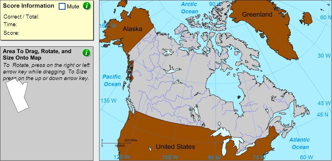 Provinces of Canada. Cartographer. Sheppard Software