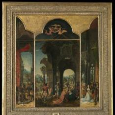 La Adoración de los Reyes Magos (tríptico)