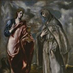 San Juan Evangelista y San Francisco de Asís