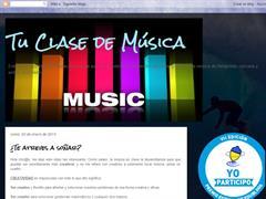 Tu clase de música