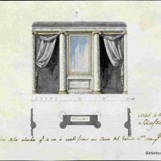 Trazas, Rasguños y Diseños del celebre arquitecto D. Silvestre Pérez y Martinez