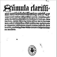 Summula de sacramentis, metrice, ex Summa S. Raymundi de Pennaforte, cum commentario et glossa interlineari
