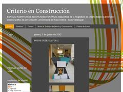 CRITERIO EN CONSTRUCCIÓN