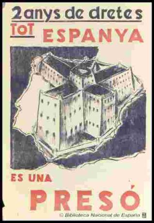 2 anys de dretes, tot Espanya és una presó