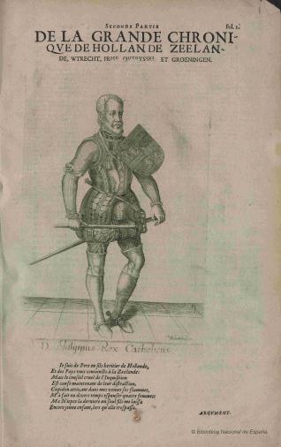 Retrato de Felipe II, Rey de España