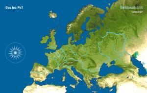 Eurohpá eanut  . Toporopa