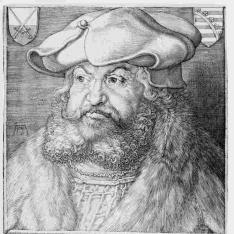 Retrato de Federico III el Sabio, elector de Sajonia