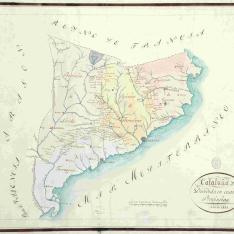 Cataluña Dividida en cuatro Provincias
